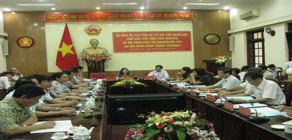 Ba-Truong-Thi-Mai-chu-nhiem-UBVHXH-Quoc-hoi-lam-viec-voi-Thai-Nguyen-ve-thuoc-Cedemex---5890